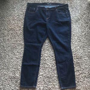 Old Navy The Flirt Dark Wash Skinny Jeans size 20